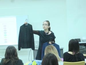 2年生ファッションの授業